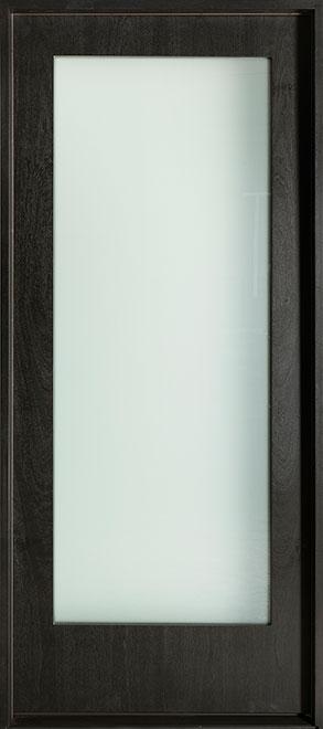 Modern Mahogany Wood Veneer Wood Front Door - Single - DB-EMD-001W CST