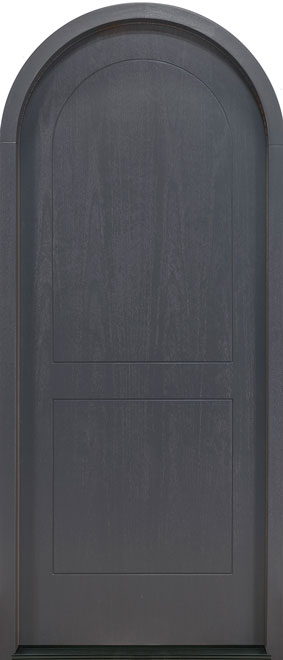Modern Mahogany Wood Veneer Wood Front Door - Single - DB-EMD-200W CST