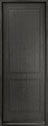 DB-EMD-200T Mahogany Wood Veneer-City Gray Wood Entry Door