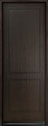 DB-EMD-200T Mahogany Wood Veneer-Espresso Wood Entry Door