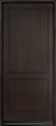 DB-EMD-200W Mahogany Wood Veneer-Espresso Wood Entry Door