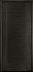 DB-EMD-711 Mahogany Wood Veneer-Espresso Wood Entry Door