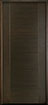 DB-EMD-711 Mahogany Wood Veneer-Walnut Wood Entry Door