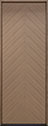 DB-EMD-715T Oak Wood Veneer-Light-Loft Wood Door - in-Stock