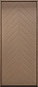 DB-EMD-715W Oak Wood Veneer-Light-Loft Wood Door - in-Stock