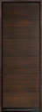 DB-EMD-A4T Mahogany Wood Veneer-Walnut Wood Entry Door