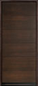 DB-EMD-A4W Mahogany Wood Veneer-Walnut Wood Entry Door