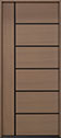 DB-EMD-B1W Rift Cut Oak Wood Veneer-Light-Loft Wood Door - in-Stock