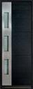 DB-EMD-C1T Mahogany Wood Veneer-Espresso Wood Door - in-Stock