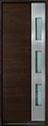 DB-EMD-C1T Mahogany Wood Veneer-Walnut Wood Door - in-Stock