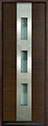 DB-EMD-C2T Mahogany Wood Veneer-Walnut Wood Door - in-Stock