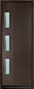 DB-EMD-C3T Mahogany Wood Veneer-Walnut Wood Door - in-Stock