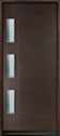 DB-EMD-C3W Mahogany Wood Veneer-Walnut Wood Door - in-Stock