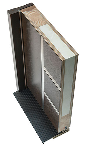 Euro Modern Collection Corner Sample Top Side View