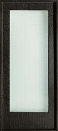 Modern Mahogany Wood Veneer Wood Front Door  - GD-EMD-001W CST