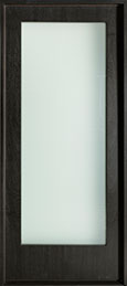 DB-EMD-001W CST Mahogany Wood Veneer-Espresso  Wood Front Door