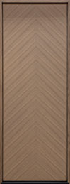 DB-EMD-715T Oak Wood Veneer-Light-Loft  Wood Entry Door - Single