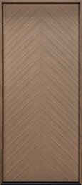DB-EMD-715W Oak Wood Veneer-Light-Loft  Wood Entry Door - Single