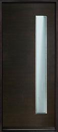 DB-EMD-E4W  CST Mahogany Wood Veneer-Espresso  Wood Front Door