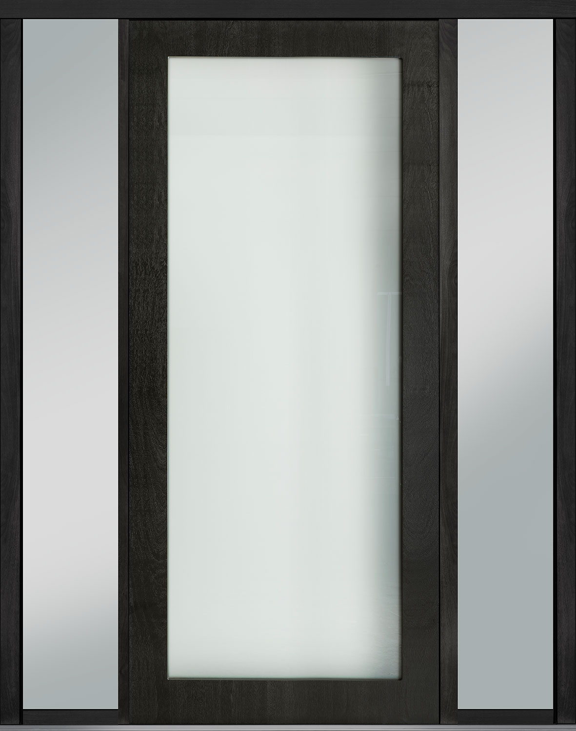 Wood Front Door - Single with 2 Sidelites
