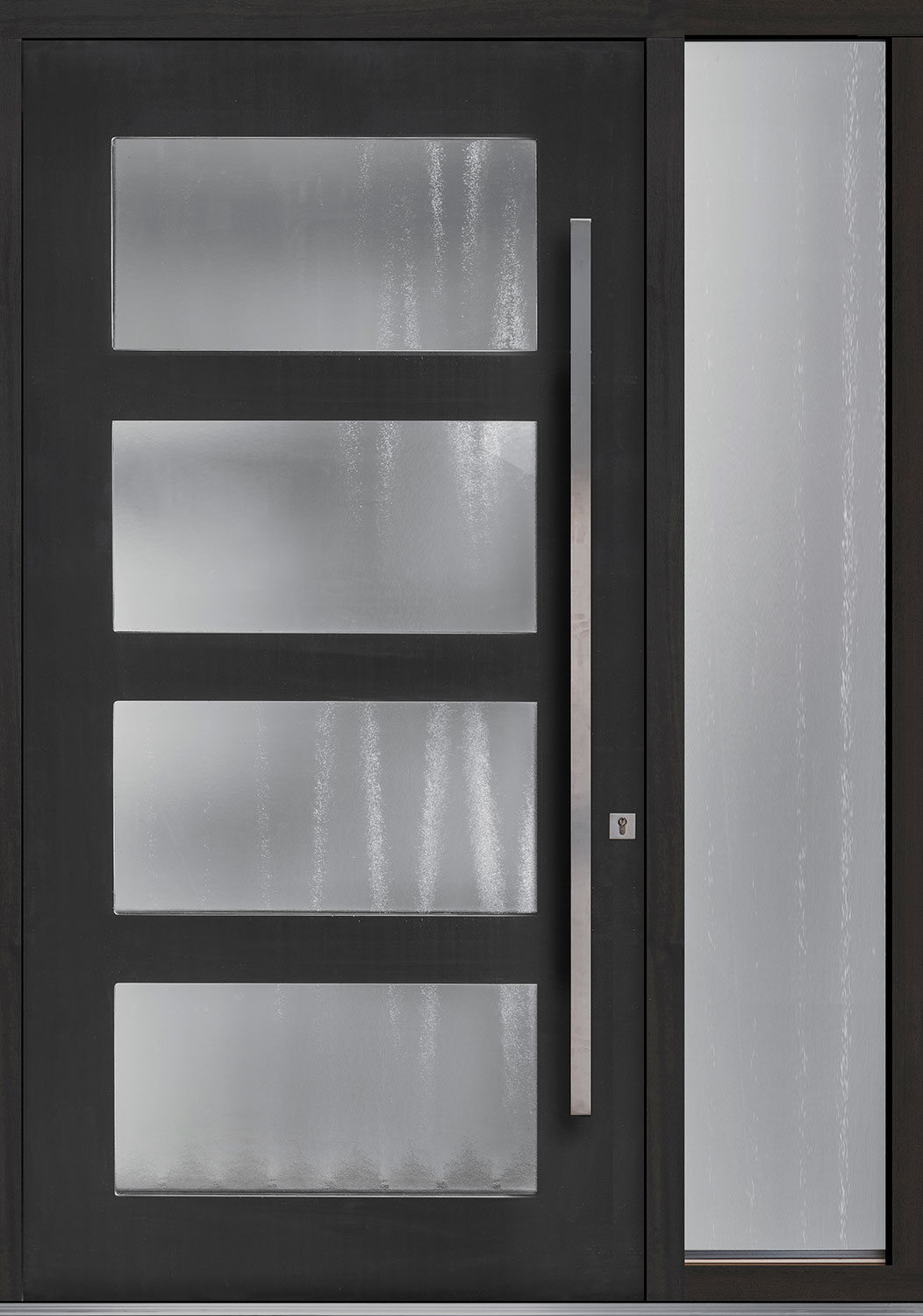Wood Front Door - Single with 1 Sidelite