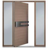 DB-PVT-A4-2SL24_Oak-Light-Loft_CST - Solid Wood Front Door Close-up 0