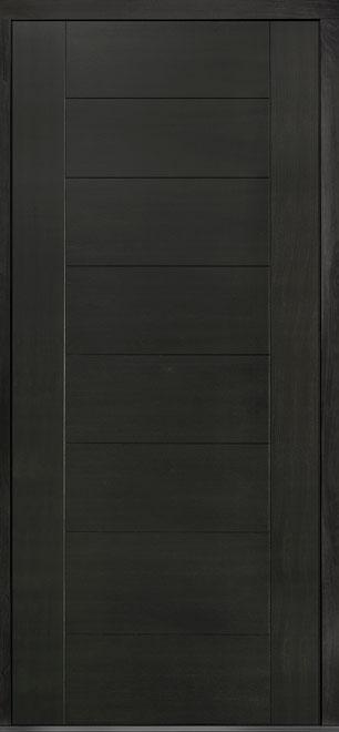 Pivot Mahogany-Wood-Veneer Wood Front Door  - GD-PVT-711 48x108