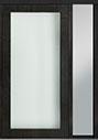 DB-PVT-001 1SL18 48x96 Single with 1 Sidelite Pivot Door