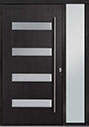 DB-PVT-004 1SL18 48x96 Single with 1 Sidelite Pivot Door