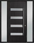DB-PVT-004 2SL18 48x108 Single with 2 Sidelites Pivot Door