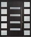 DB-PVT-004 2SL24B 48x108 Single with 2 Sidelites Pivot Door