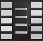 DB-PVT-004 2SL30B 48x108 Single with 2 Sidelites Pivot Door