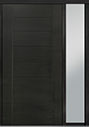 DB-PVT-711 1SL18 48x96 Single with 1 Sidelite Pivot Door