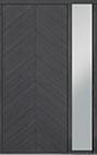 DB-PVT-715 1SL18 48x108 Single with 1 Sidelite Pivot Door