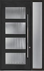 DB-PVT-823 1SL18 48x108 Single with 1 Sidelite Pivot Door