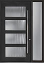 DB-PVT-823 1SL18 48x96 Single with 1 Sidelite Pivot Door