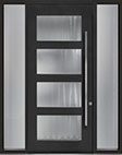 DB-PVT-823 2SL18 48x108 Single with 2 Sidelites Pivot Door