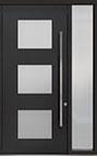 DB-PVT-824 1SL18 48x108 Single with 1 Sidelite Pivot Door