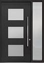 DB-PVT-824 1SL18 48x96 Single with 1 Sidelite Pivot Door