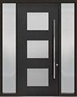 DB-PVT-824 2SL18 48x108 Single with 2 Sidelites Pivot Door