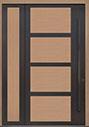 DB-PVT-825 SLS20 48x96 Single with Solid Sidelite Pivot Door