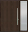 DB-PVT-A1V 1SL24 60x96 Single with 1 Sidelite Pivot Door