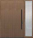 DB-PVT-A1 1SL24 60x96 Single with 1 Sidelite Pivot Door