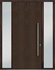 DB-PVT-A1 2SL18 48x108 Single with 2 Sidelites Pivot Door