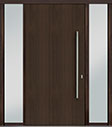 DB-PVT-A1 2SL18 48x96 Single with 2 Sidelites Pivot Door