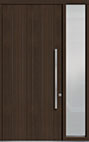 DB-PVT-A2 1SL18 48x108 Single with 1 Sidelite Pivot Door