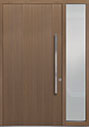 DB-PVT-A2 1SL18 48x96 Single with 1 Sidelite Pivot Door