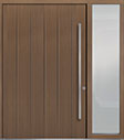 DB-PVT-A2 1SL24 60x96 Single with 1 Sidelite Pivot Door