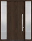 DB-PVT-A2 2SL18 48x108 Single with 2 Sidelites Pivot Door