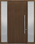 DB-PVT-A2 2SL18 48x108 Single with 2 Sidelites Pivot Door